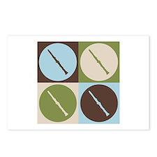 Clarinet Pop Art Postcards (Package of 8)