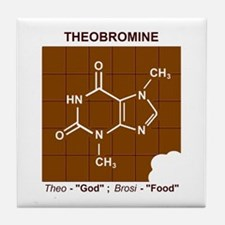 Unique Organic chemistry Tile Coaster