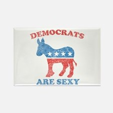 Democrats are Sexy Rectangle Magnet