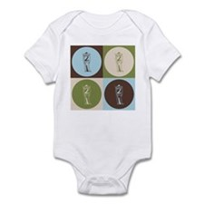 Civil War Pop Art Infant Bodysuit