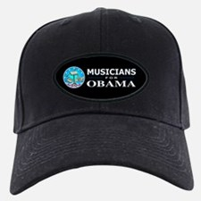 MUSICIANS FOR OBAMA Baseball Hat