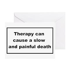 health warning #2 Greeting Cards (Pk of 20)