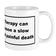health warning #2 Mug