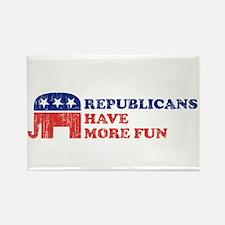 Republicans have more fun Rectangle Magnet (10 pac