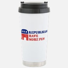 Republicans have more fun Stainless Steel Travel M