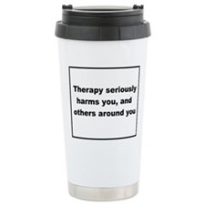 health warning #3 Travel Mug