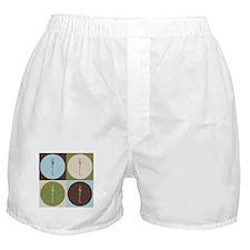 Chiropractic Pop Art Boxer Shorts