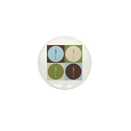 Chiropractic Pop Art Mini Button (10 pack)