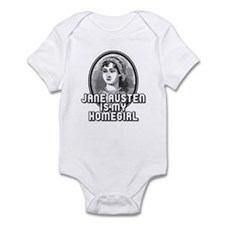Jane Austen Infant Bodysuit