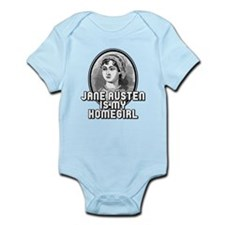 Jane Austen Infant Bodysuit