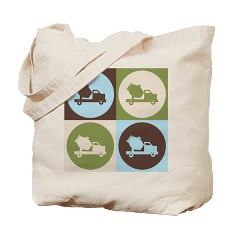 Cement Pop Art Tote Bag