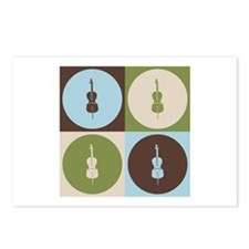 Cello Pop Art Postcards (Package of 8)