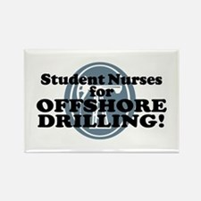 Student Nurses For Offshore Drilling Rectangle Mag
