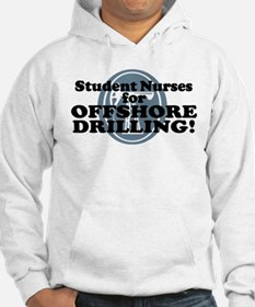 Student Nurses For Offshore Drilling Hoodie