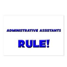 Administrative Assistants Rule! Postcards (Package