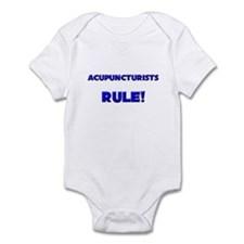 Acupuncturists Rule! Infant Bodysuit