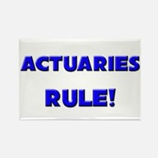 Actuaries Rule! Rectangle Magnet