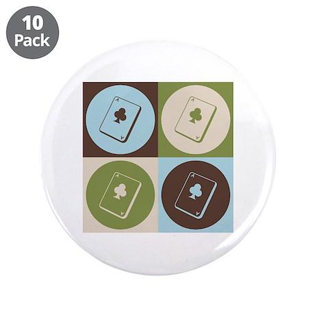 """Bridge Pop Art 3.5"""" Button (10 pack)"""