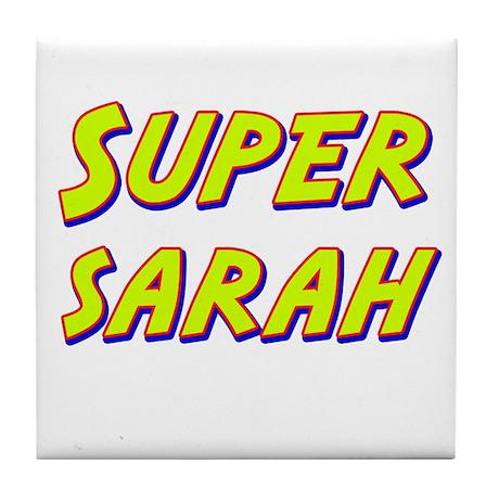 Super sarah Tile Coaster
