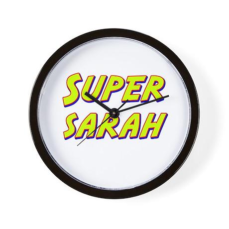 Super sarah Wall Clock