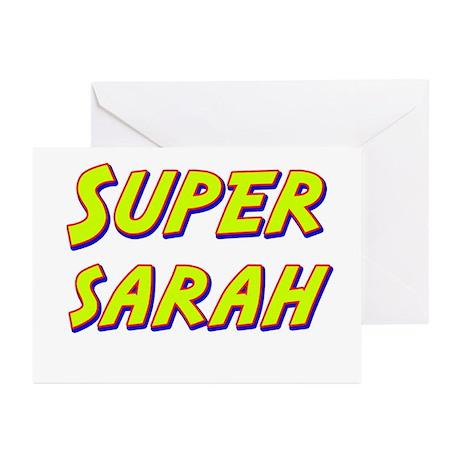 Super sarah Greeting Cards (Pk of 10)