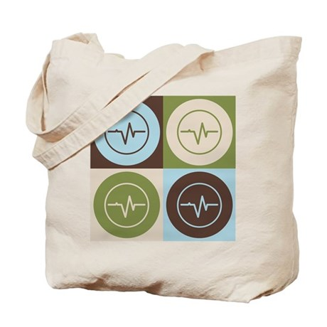 Biomedical Engineering Pop Art Tote Bag
