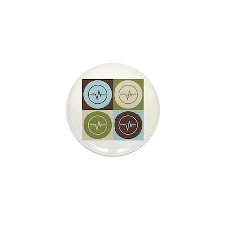 Biomedical Engineering Pop Art Mini Button (100 pa