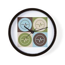 Biomedical Engineering Pop Art Wall Clock
