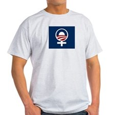 Cute Obama women T-Shirt