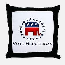 Vote Republican Throw Pillow