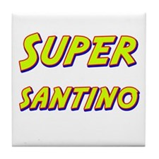 Super santino Tile Coaster
