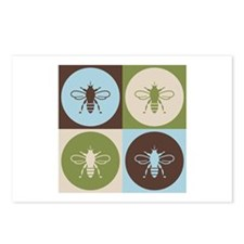 Bee Pop Art Postcards (Package of 8)