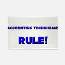 Accounting Technicians Rule! Rectangle Magnet