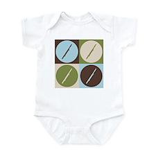 Bassoon Pop Art Infant Bodysuit