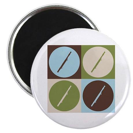 """Bassoon Pop Art 2.25"""" Magnet (10 pack)"""