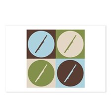 Bassoon Pop Art Postcards (Package of 8)