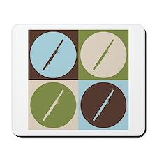 Bassoon Pop Art Mousepad