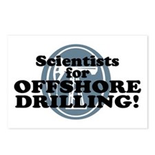 Scientists For Offshore Drilling Postcards (Packag