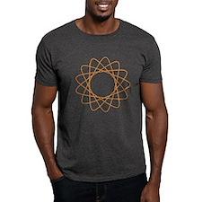 Orange Spirograph T-Shirt