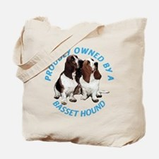 Proudly Owned Basset Hound Tote Bag