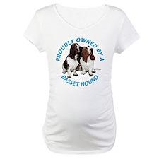 Proudly Owned Basset Hound Shirt