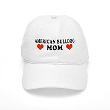 American Bulldog Mom Baseball Cap