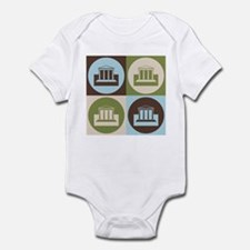 Banking Pop Art Infant Bodysuit