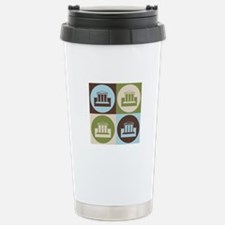 Banking Pop Art Travel Mug