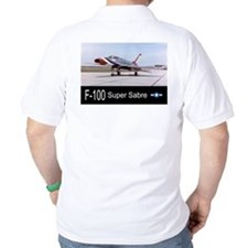 F-100 Super Sabre Fighter T-Shirt