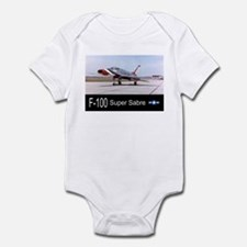 F-100 Super Sabre Fighter Infant Bodysuit