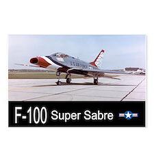 F-100 Super Sabre Fighter Postcards (Package of 8)