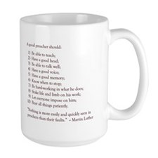 Good Preacher Mug (Large)