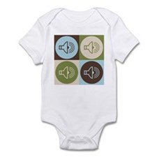 Audiology Pop Art Infant Bodysuit