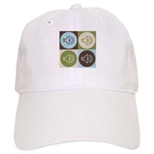 Audiology Pop Art Baseball Cap